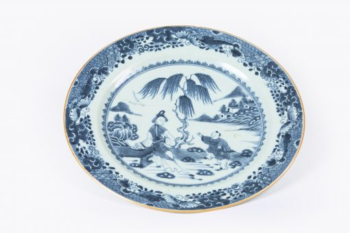10221 - Late 17th Century Kangxi, Qing dynasty Nanjing Porcelain Charger
