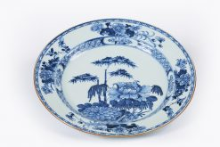 10222 - Late 17th Century Kangxi Qing Dynasty Nanjing Porcelain Charger