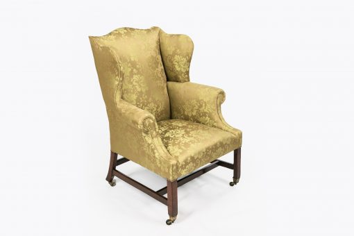 8095 - Early 19th Century George III Wing Chair