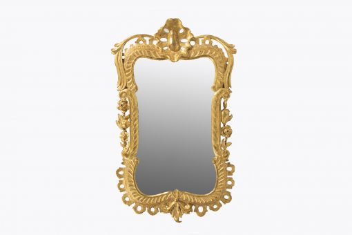 10344 - 18th Century George II Water Gilded Mirror