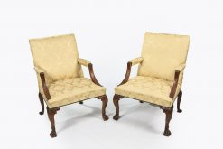 10403 - Early 19th Century George III Pair of Gainsborough Armchairs