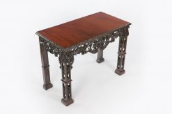 10306 - 18th Century Irish Chippendale Side Table