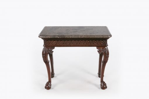 10377 - Early 18th Century Irish Fossilised Marble Topped Side Table