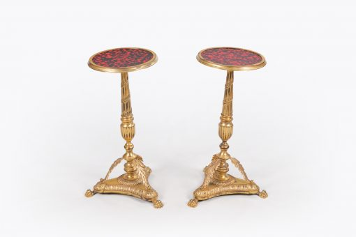 10469 - Early 19th Century Empire Pair of Occasional Tables
