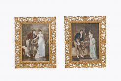 9969 - 19th Century Pair of Coloured Prints