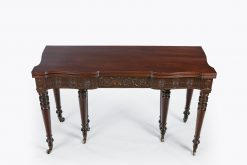 10215 - Early 19th Century Regency Concertina Extendable Dining Table