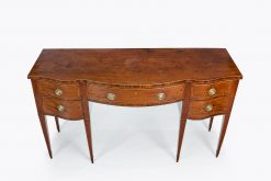 10459 - 18th Century George III Serpentine Fronted Sideboard