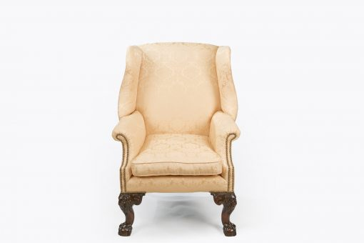 10525 - 18th Century George III Wing Chair