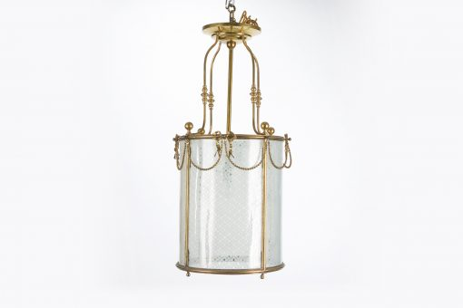7162 - 19th Century Brass Lantern