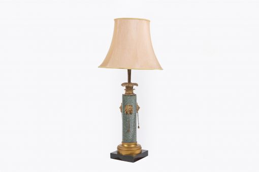 10208 - Gilt and Marble Lamp after Thomas Hope