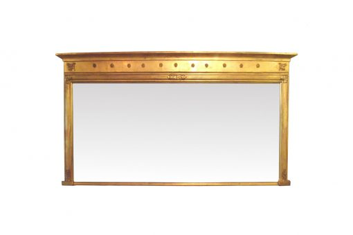 10366 - Early 19th Century Giltwood Overmantle Mirror
