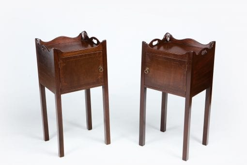 10555 - 19th Century Pair of Bedside Lockers
