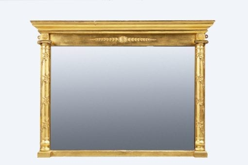 10349 - Early 19th Century William IV Overmantle Mirror