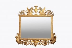 10290 – Early 19th Century Regency Mirror in the manner of Thomas Hope