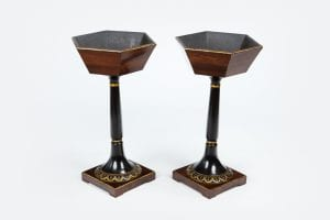10554 – Early 19th Century Regency Pair of Jardiniere Stands after Thomas Hope