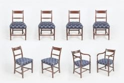 10582 - 18th Century George III Set of Eight Dining Chairs