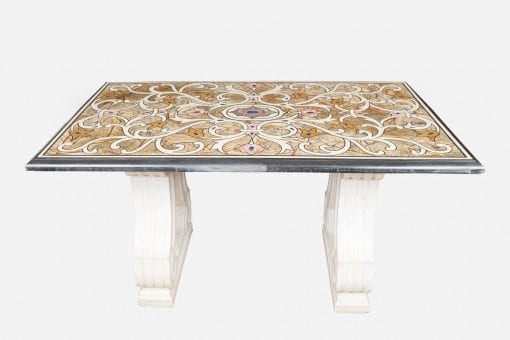 10620 - Early 19th Century William IV Specimen Marble Top Table