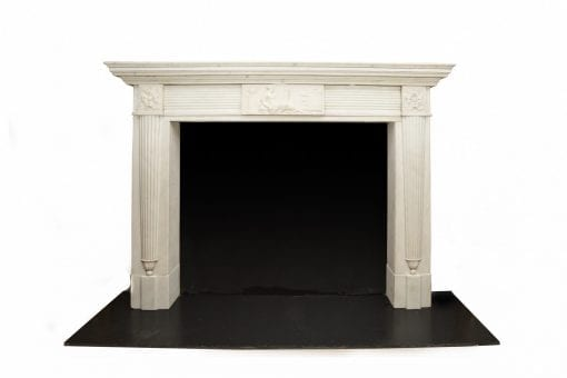 10633 - Early 19th Century Regency Neoclassical Fire Surround