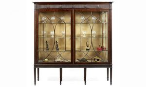 Late 18th Century Display Cabinet by George Hepplewhite