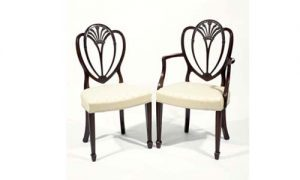 8038 – Early 19th Century Set of Eight Hepplewhite Dining Chairs