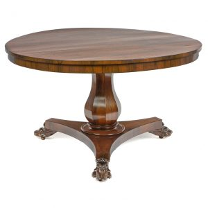 Early 19th Century William IV Center Table