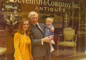 devenish and company, madison avenue, new york city, 1970's, antiques dealers, history of the upper east side, continental antiques, fine furniture, desmond devenish, tom devenish