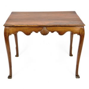 18th Century Irish Mahogany Side Table