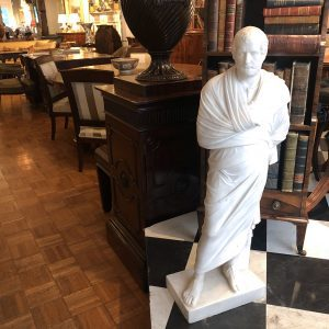 3171 - 19th Century Marble Statue of Aristedes, Signed by Giacomo Cali