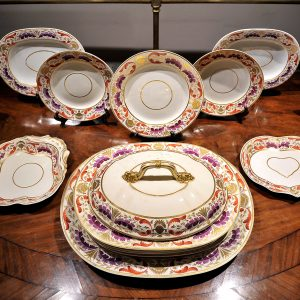 118 Piece Crown Derby Dinner Service