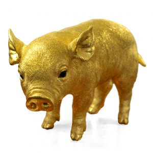 "3165 - ""The Golden Pig,"" by Sheelin Wilson"