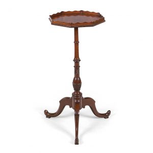 18th Century George III Mahogany Wine Table