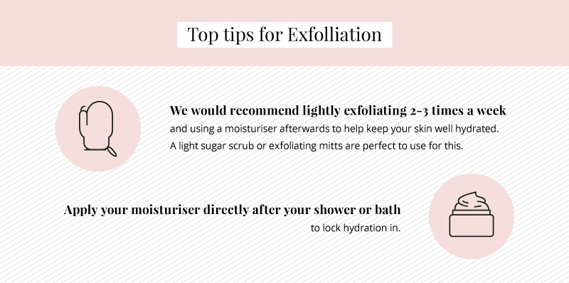 Exfoliating tips for laser hair removal